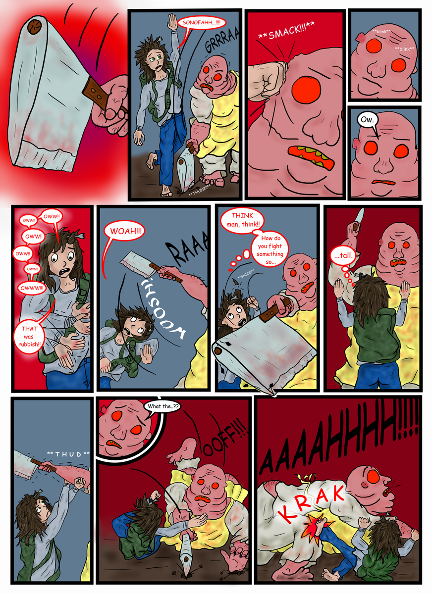Page 58...BaP!! POW!! DUCK!!