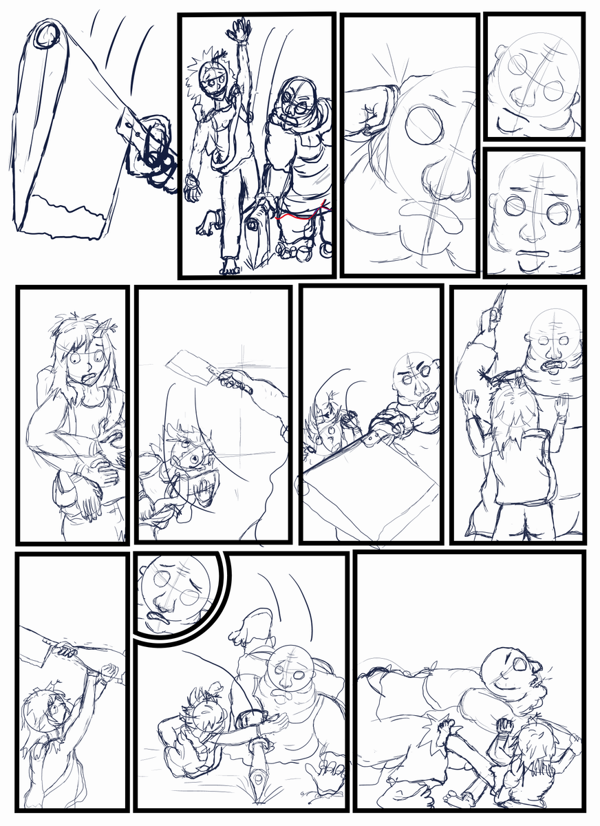 Next page sketches